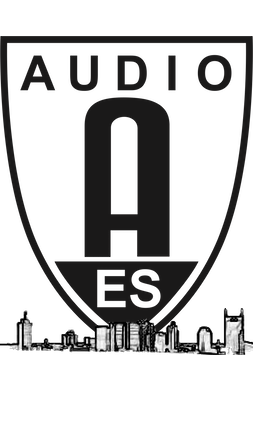 AES Badge with Skyline